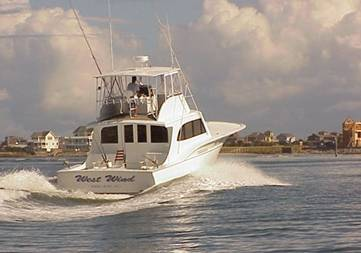 Book the West Wind Fishing Charter for Outer Banks Deep Sea Fishing